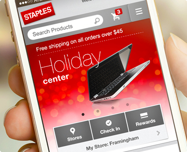 Staples Mobile Site